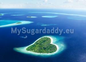 Urlaub eines Sugardaddys